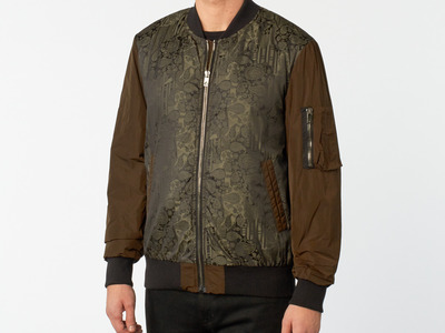 Photo of CLEARANCE: Outerwear We've Got You Covered Diesel Black Gold // Jemolog Jacket // Green (Euro: 48) by Touch Of Modern