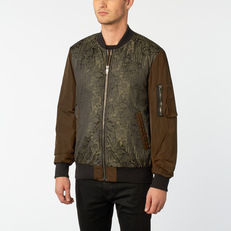 Diesel Black Gold // Jemolog Jacket // Green (Euro: 48)