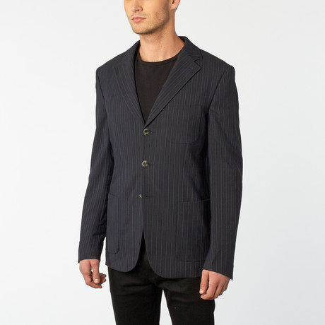 Jaxin-New Jacket // Navy + Blue (Euro: 48)