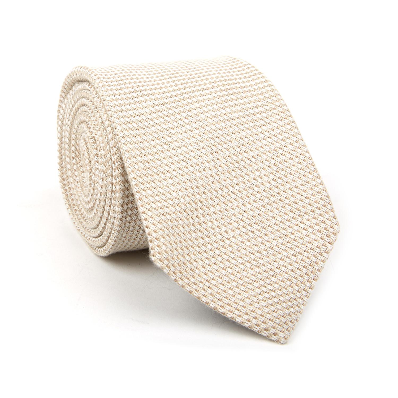 designer silk ties 1afi  Tom Ford // Micro Basketweave Classic Silk Tie // Champagne Champagne