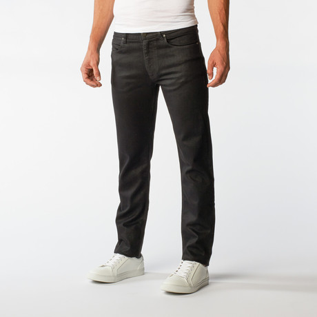 Black Denim Slim Fit  // Black (30Wx32L)