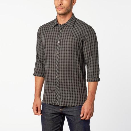 Scotty Button-Up shirt // Black