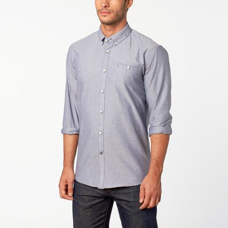 Caldwell button-down shirt // Blue