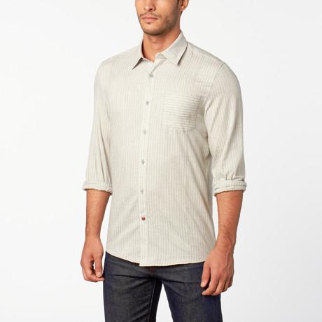 Beckett Button-Up shirt // Greige