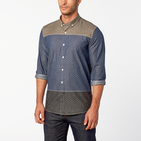 Oliver button-down shirt // Indigo