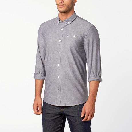 Hobart button-down shirt // Indigo