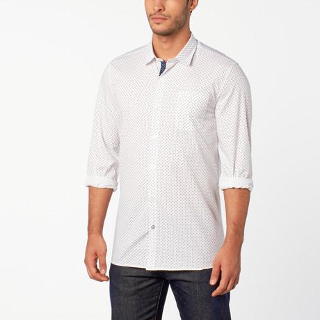Dizzy Button-Up shirt // White