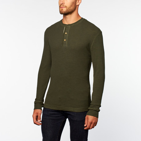 Eric Thermal Henley // Pine