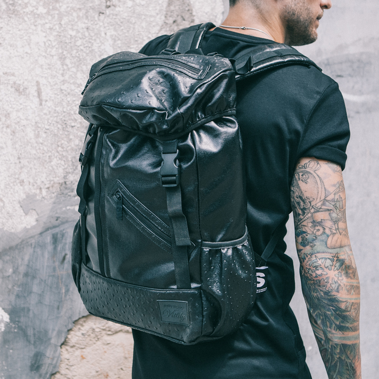All Black Everything: All Black Everything Backpack // SW X Vitaly Limited