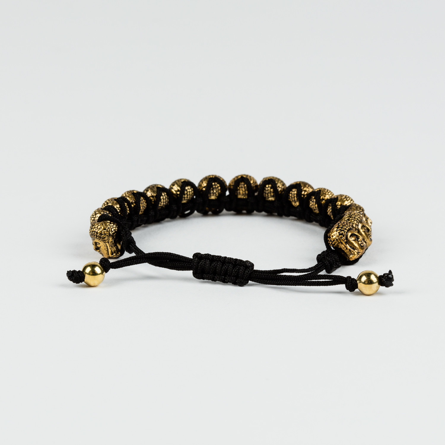 Heavy Gold Plated Buddha Bracelet