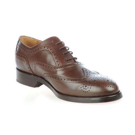 Leather Oxford Brogue // Brown