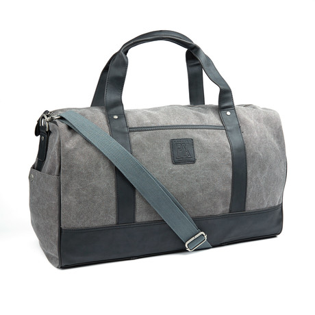 Simon Duffle Bag // Grey