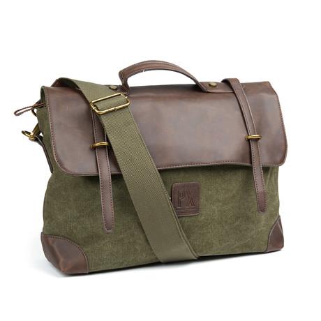 Edgar Messenger Bag // Olive