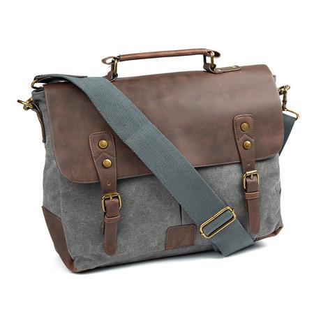 Kevin Messenger Bag // Houtskool