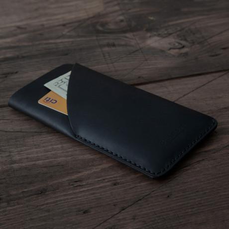 iPhone Card Sleeve // Black Matte (iPhone 6/6S)