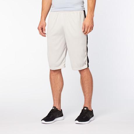 Sport Short // Vapor Grey + Black