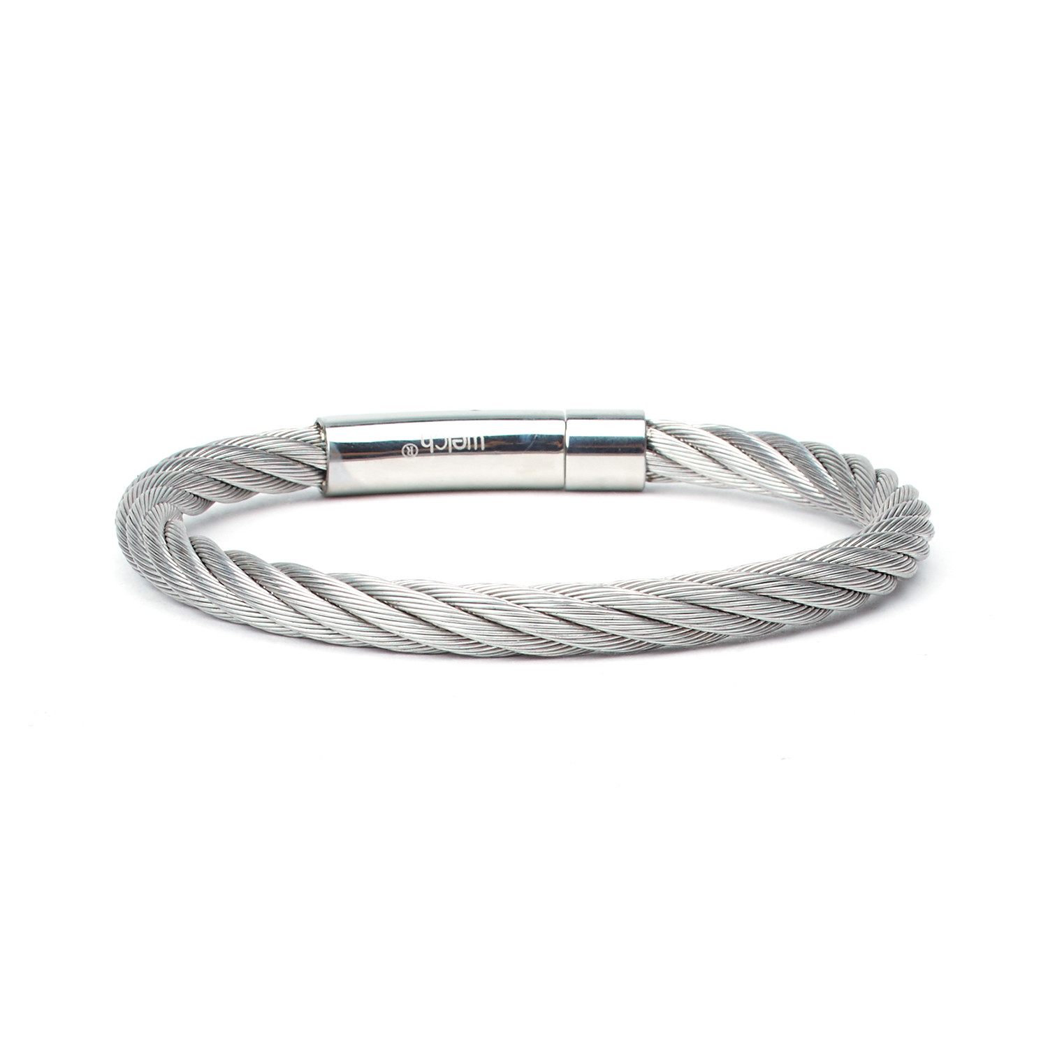 Tokat Stainless Steel Cable Bracelet