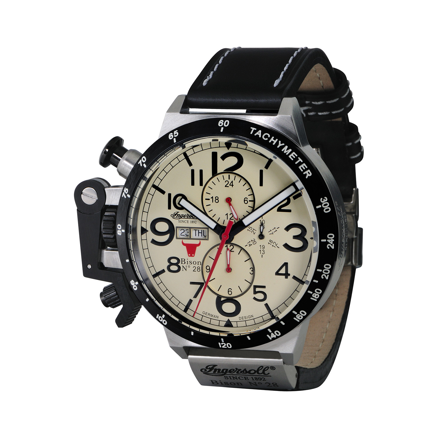 large vestal modern guide medium of sales watches touch the black abc gunmetal