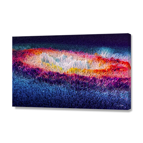 "More Beautiful Than the Nereids 01 // Stretched Canvas (24""L x 16""H)"