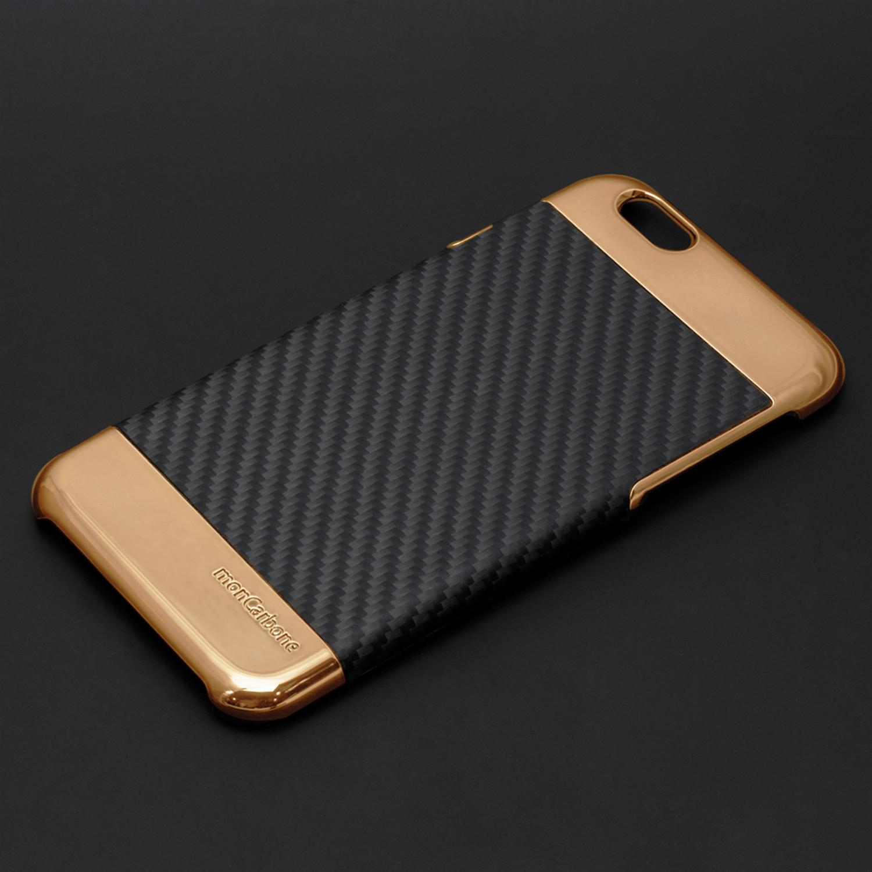 the best attitude 02de8 386d9 Curve iPhone Case // Rose Gold Black (iPhone 6S/6 Plus) - MonCarbone ...