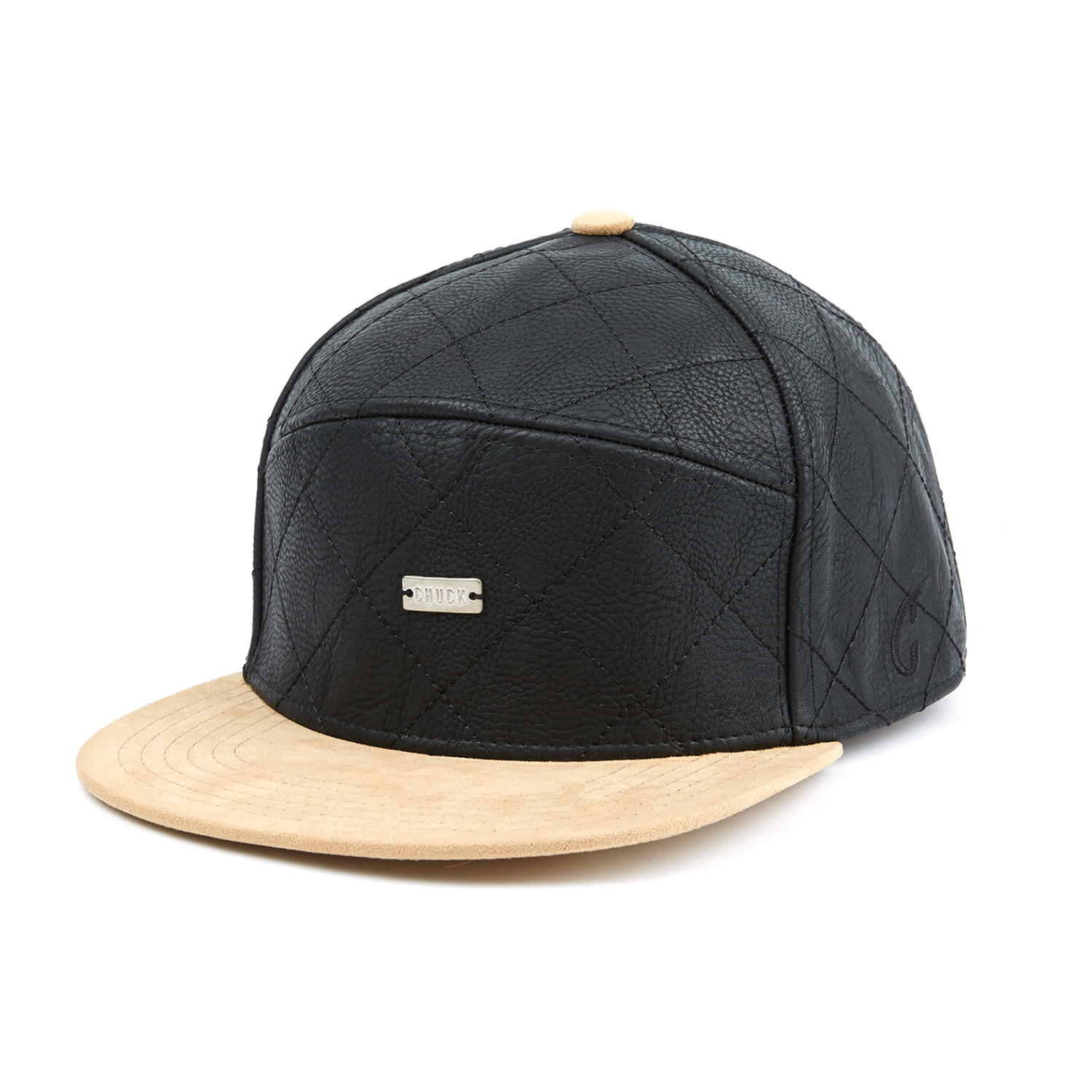Quilted Chuck Snapback    Blue + Brown - Original Chuck - Touch of ... 0902204646e
