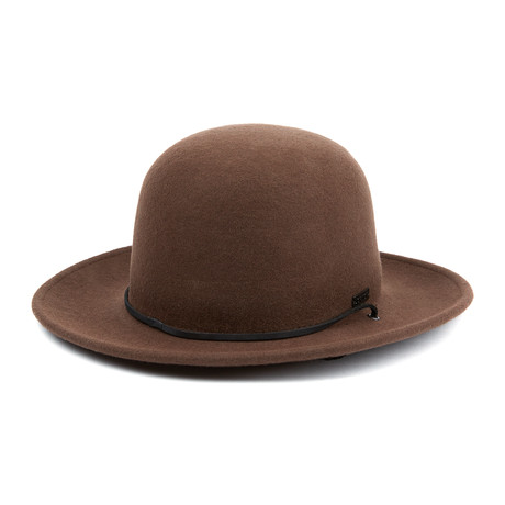 Charlie Full Brim Hat // Brown