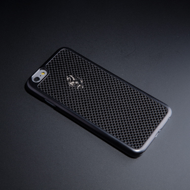 new style 7974d 5afc1 Masters Club // Ferrari GT Carbon Hard Case // Black (iPhone 6/6s ...