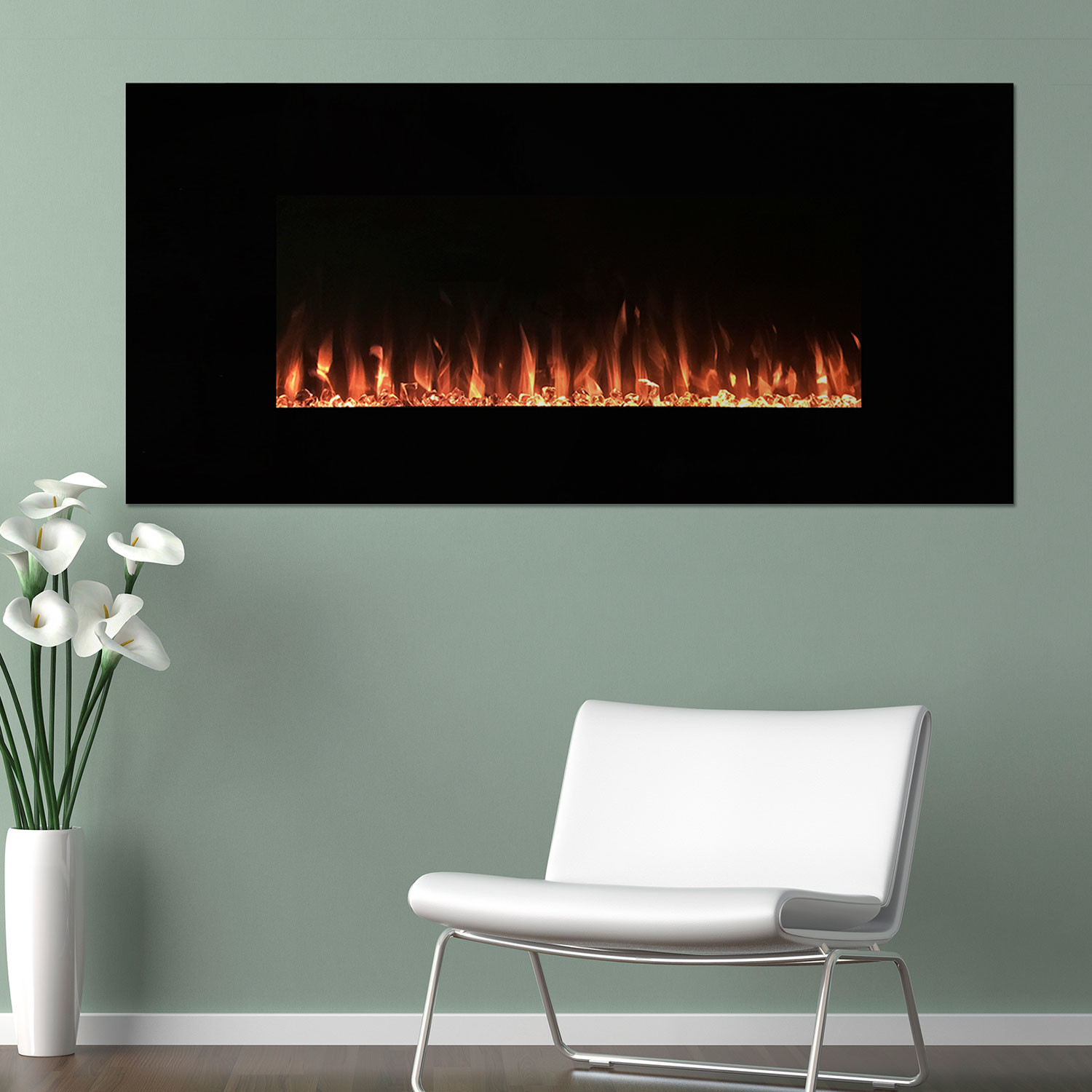 Northwest Led Fire Ice Electric Fireplace Remote