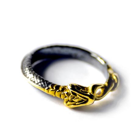 Snake Ring // Gold