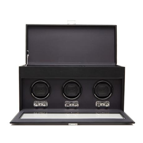 Heritage // Triple Winder + Storage (Black)
