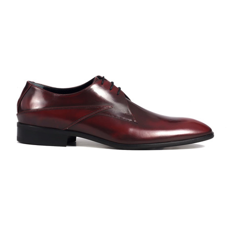 Florentic Leather Derby // Maroon
