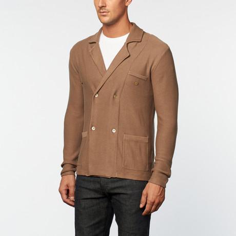 Loft 604 // Pure Cotton DB Blazer // Beige (S)