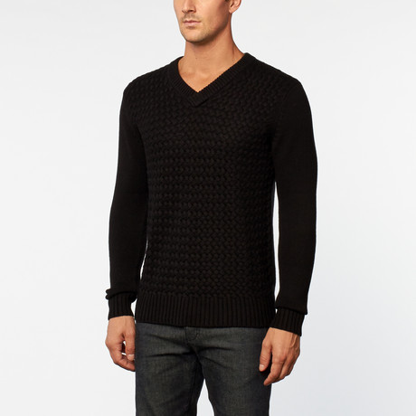 Loft 604 // Cashmere Sweater // Black
