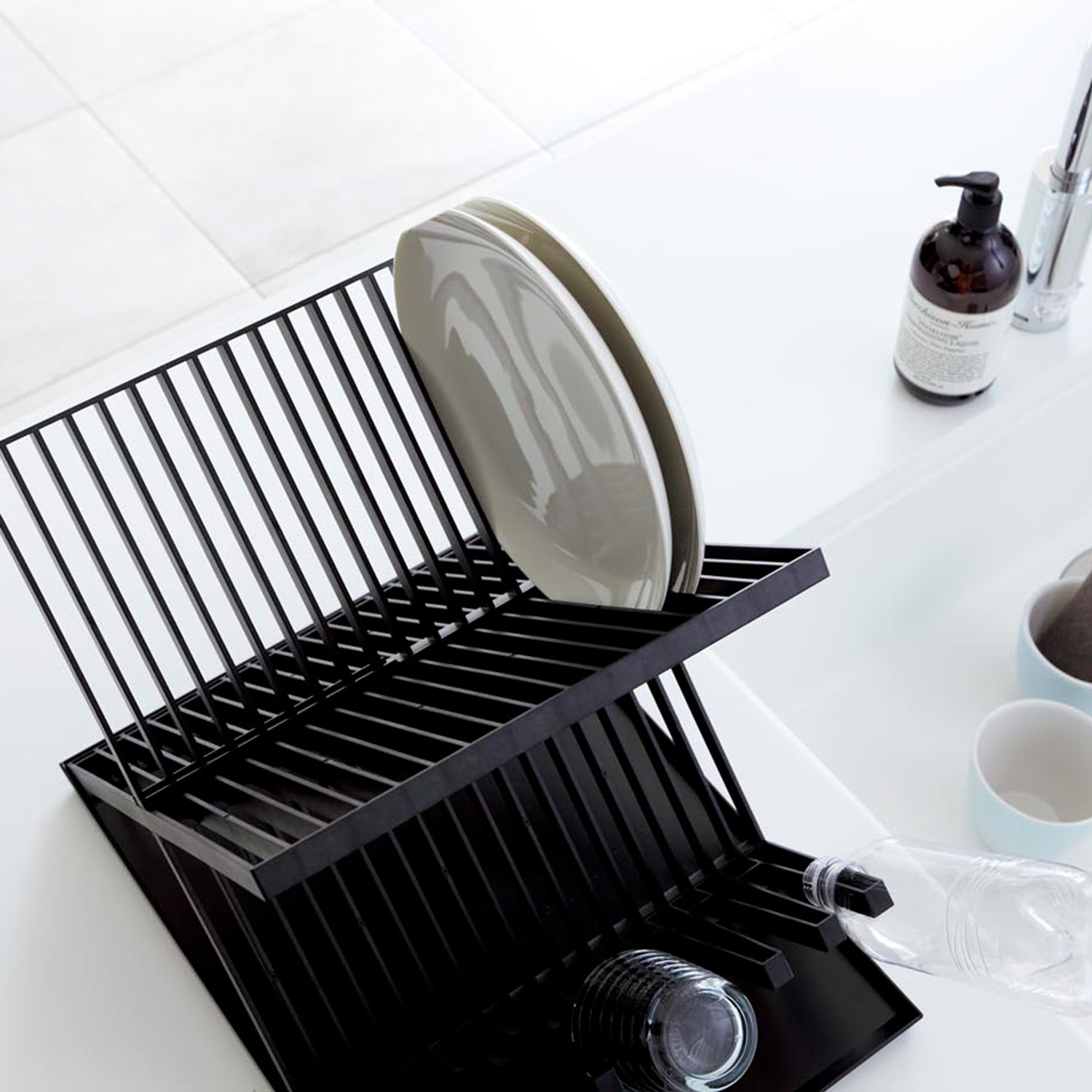 Tower // Dish Rack (Black) & Tower // Dish Rack (Black) - Yamazaki USA - Touch of Modern