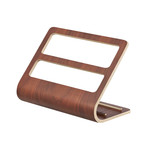 Rin // Plywood Tablet + Remote Control Rack (Brown)