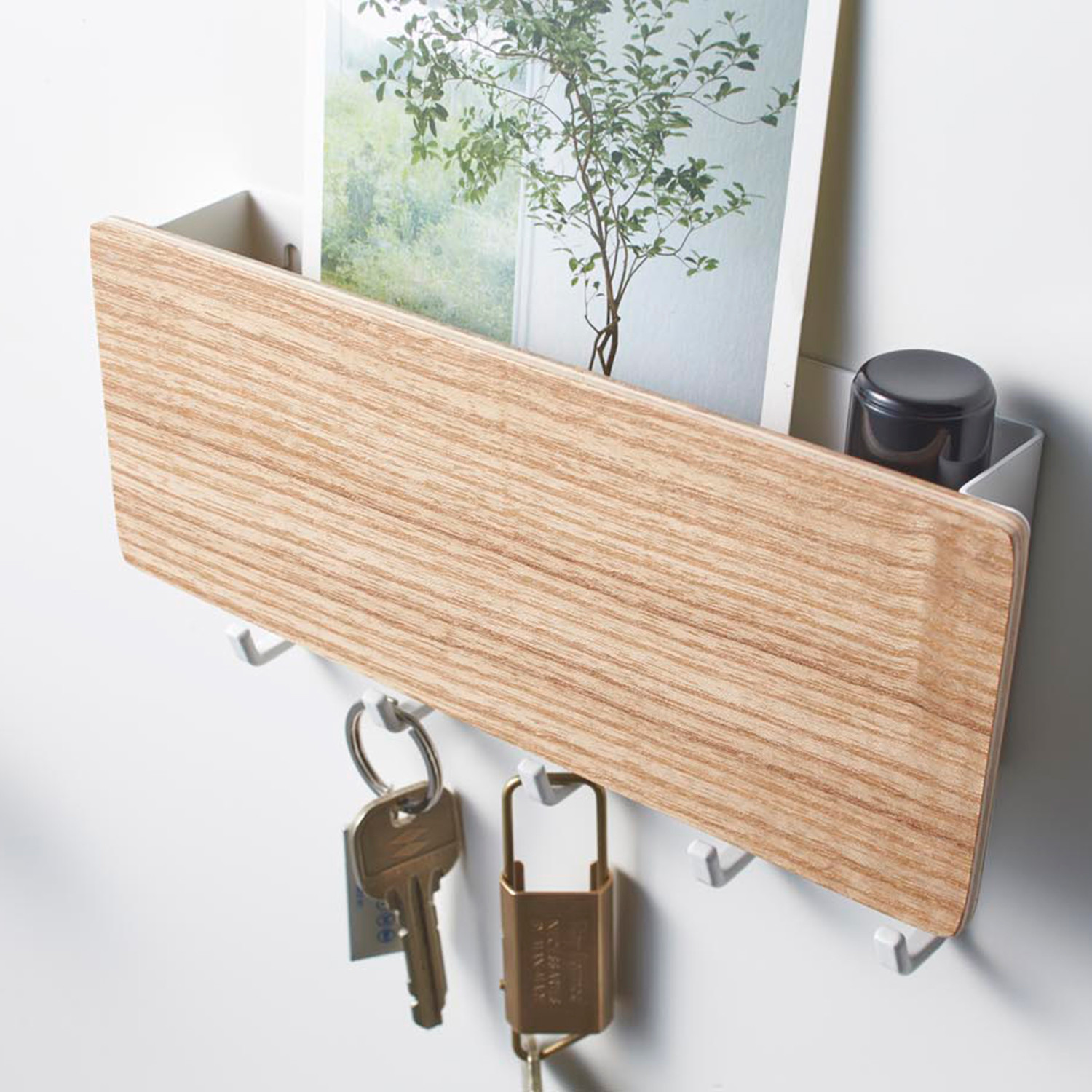 Rin Magnetic Key Hook Tray