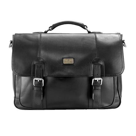 Lanlay Briefcase // Black