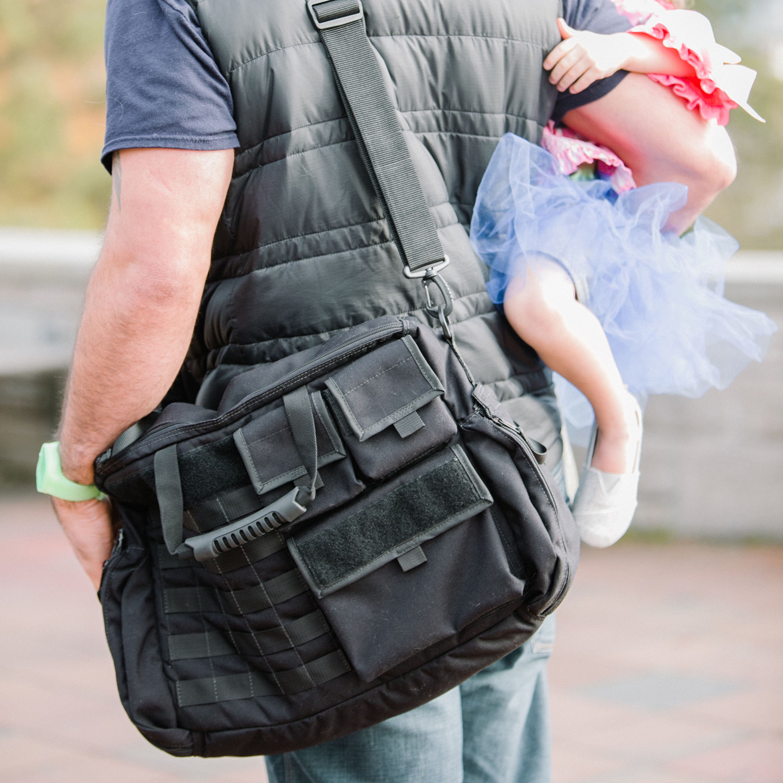got your six diaper bag  down range baby  touch of modern - got your six diaper bag