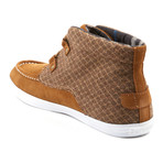 Mid Mark Sneaker // Brown (Euro: 44)