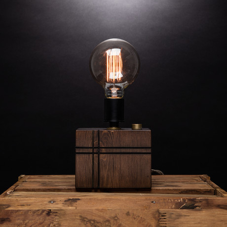 Simple Press // Hatch Cut Lamp