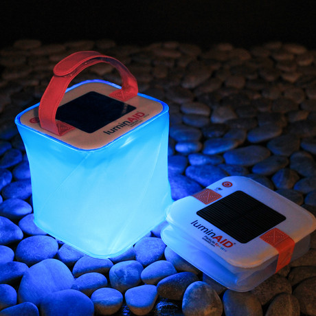 Luminaid Inflatable Solar Lights Touch Of Modern