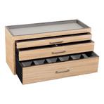 Meridian // Watch Box (Burlwood)