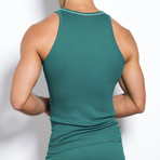 Pop Color Tank // Raging Teal (M)