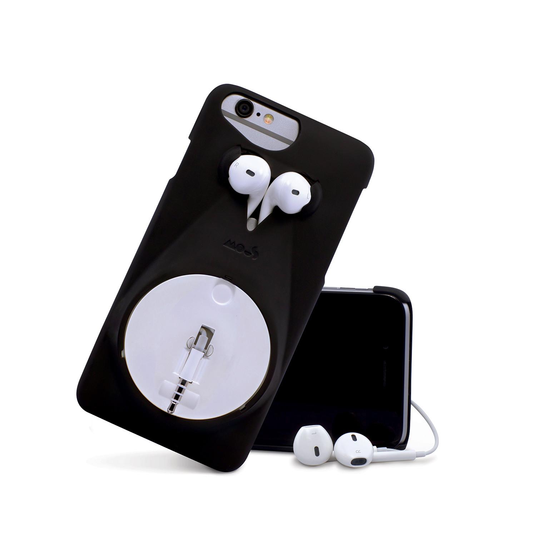 Mous Musicase // Retractable Earphone Case // Black
