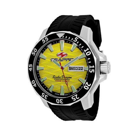 Seapro Scuba Dragon Diver Quartz // Limited Edition // SP8313