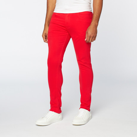 714 Skinny Fit // Red (28WX30L)