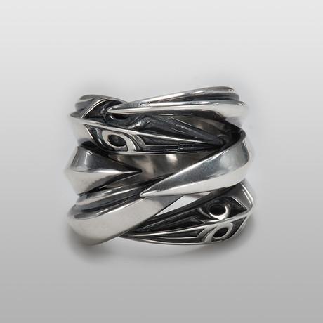 Urban Fangs // Sterling Silver (Size 8)