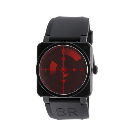 Bell 0026 amp; Ross Red Radar Automatische // BR03 92
