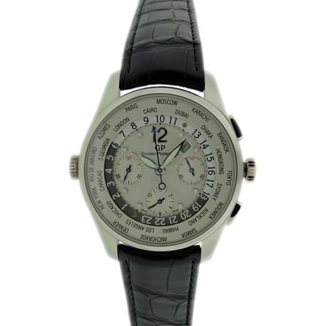 Girard Perregaux World Time Chronograph Automatic // // 32.208 c.2010's // Nieuwe