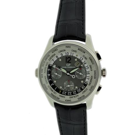 Girard Perregaux World Time Chronograph Automatic // // 32.207 c.2010's // Nieuwe